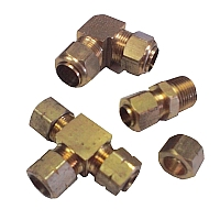 Compression Fittings Fluidline Components