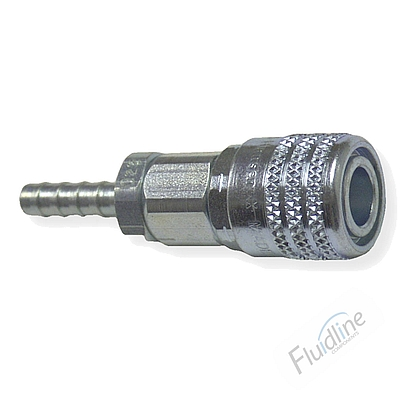 Hansen MS-Series Hose Barb End Socket