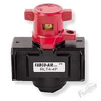RLT Series 3-Way Rotary Turn Lock-out Tag-out Valve by Fabco-Air