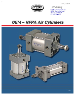 Fabco-Air FCQN Series Cylinders Catalog Cover